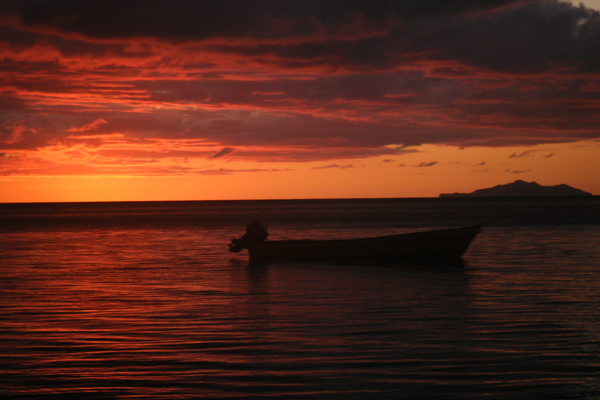 Sunset Fiji